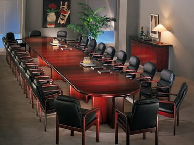 Wooden conference table UNIVERSAL | Conference table