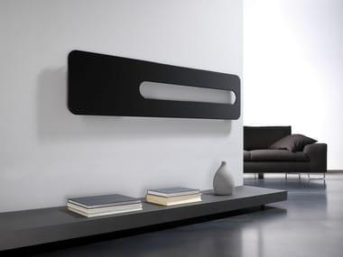 Radiador decorativo de pared en acero al carbono BADGE OR