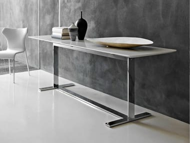 Lacquered rectangular console table EILEEN | Console table