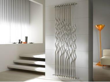 Glossy steel decorative radiator RIO | Glossy steel decorative radiator