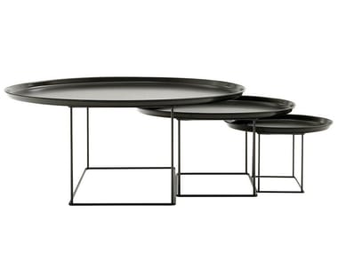 Steel coffee table / tray FAT FAT