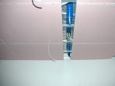 Gypsum fiber Radiant ceiling panel UPONOR TEPORIS