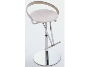 Height-adjustable swivel stool CAYMAN