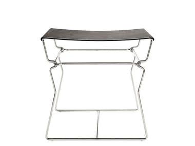 Leather stool / coffee table PYLLON | Stool