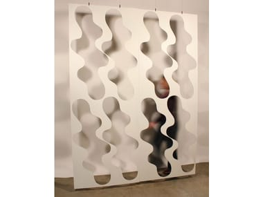 Aluminium room divider CLOUD SCREEN