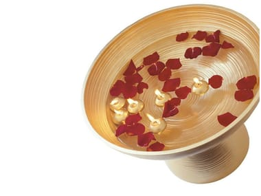 Ceramic serving bowl GOLD | Serving bowl