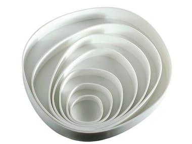 Corian® serving bowl VERTIGO ROUND