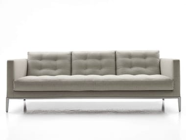 3 seater tufted fabric sofa AC LOUNGE | Sofa