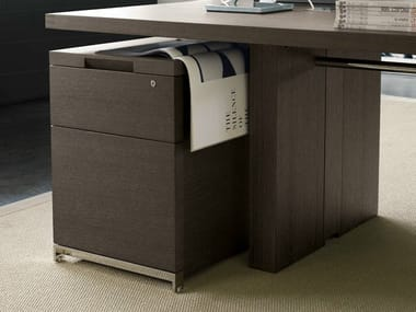 Office drawer unit AC EXECUTIVE | Wooden office drawer unit