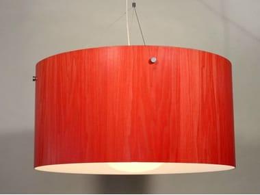 Wood veneer pendant lamps archiproducts wood veneer pendant lamp satellite mozeypictures Choice Image