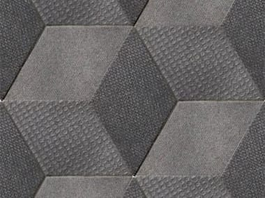 Indoor porcelain stoneware wall/floor tiles TEX BLACK