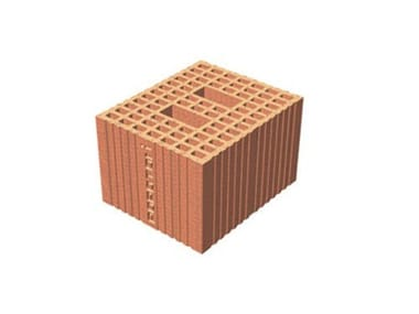 Thermal insulating clay block POROTON®