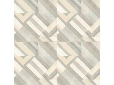 Glazed stoneware wall/floor tiles AZULEJ BIANCO PRATA