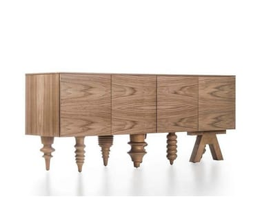 Walnut sideboard MULTILEG | Walnut sideboard