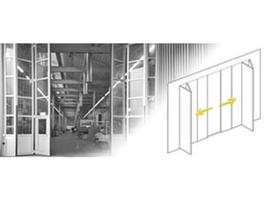 Automatic gate opener Drive mechanism for folding doors