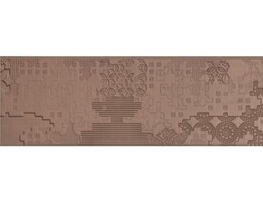 Pavimento/rivestimento in gres porcellanato per interni BAS-RELIEF PATCHWORK CIPRIA