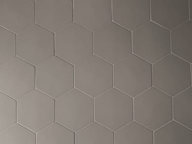 Rivestimento in gres porcellanato PHENOMENON HEXAGON FANGO