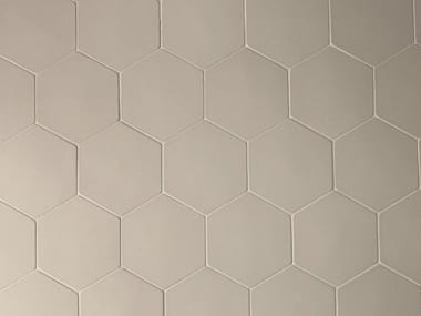 Rivestimento in gres porcellanato PHENOMENON HEXAGON GRIGIO