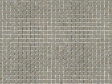 Mosaico in gres porcellanato DECHIRER GLASS GRIGIO