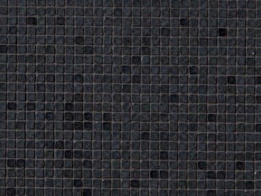 Mosaico in gres porcellanato DECHIRER GLASS NERO