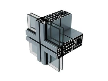 Continuous facade system AW86B