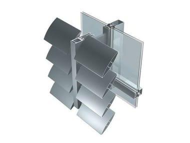 Aluminium Solar shading FRS
