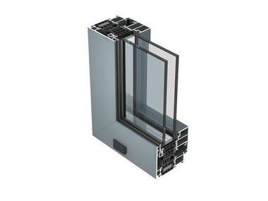 Aluminium thermal break window 77 IS