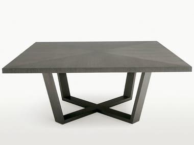 Tavolo quadrato in legno XILOS | Tavolo quadrato