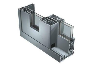 Aluminium patio door SC 140 TT