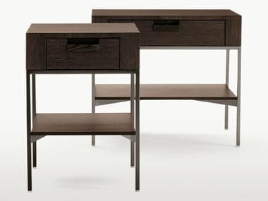 Solid wood coffee table / bedside table EBE | Rectangular bedside table