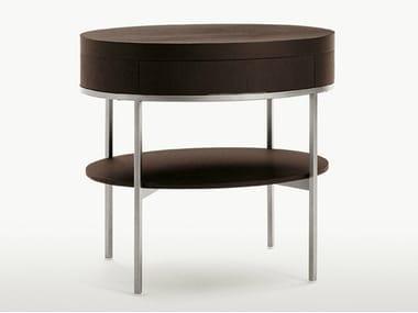 Oak coffee table / bedside table EBE | Oval bedside table
