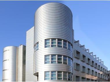 Continuous metal laminate for facade zintek®