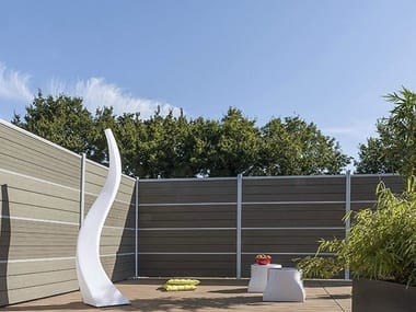Engineered wood garden partition FENCING BOARD