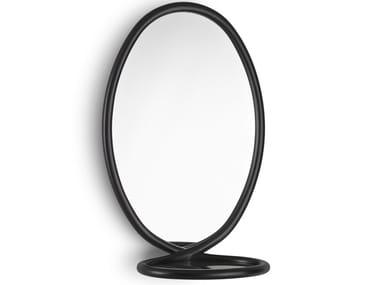 Oval framed mirror LOOP