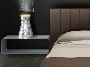 Lampada da tavolo a luce indiretta in alluminio ULUS | Lampada da tavolo