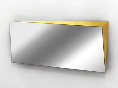 Wall-mounted rectangular mirror LINGOTTO | Rectangular mirror