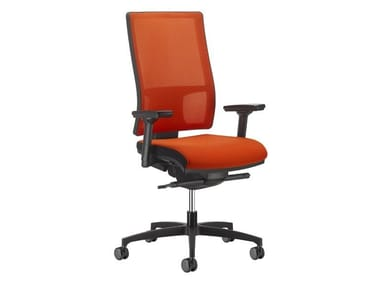 Task chair with 5-Spoke base MESH LINE | Task chair