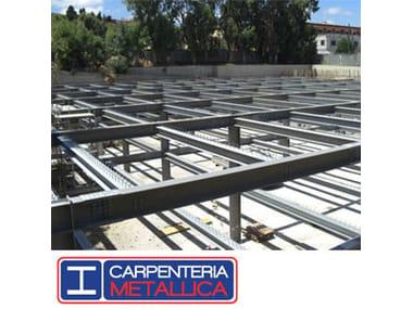 Steel building system Carpenteria Metallica Sicilferro