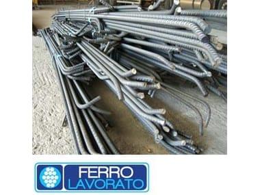 Steel bar, rod, stirrup for reinforced concrete Ferro Lavorato Sicilferro
