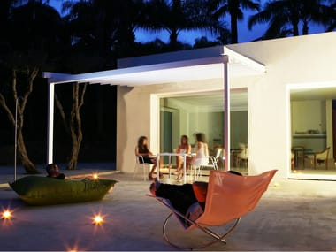 Anbau Terrassenüberdachung aus Aluminium SUITE