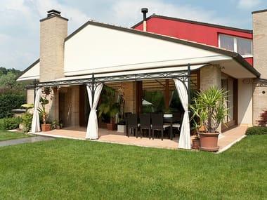 Anbau Terrassenüberdachung aus Eisen NOVECENTO | Anbau Terrassenüberdachung
