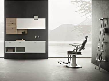 Bathroom furniture set CRAFT - COMPOSITION N04
