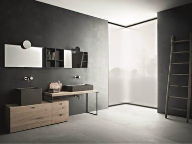 Bathroom furniture set CRAFT - COMPOSITION N06