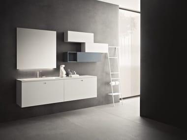 Bathroom furniture set CRAFT - COMPOSITION N08