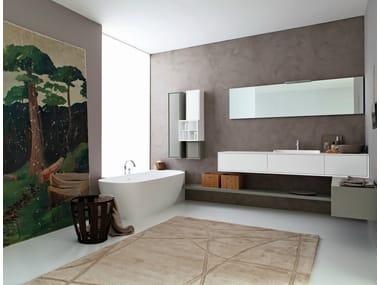 Bathroom furniture set LIBERA 3D - COMPOSITION L01