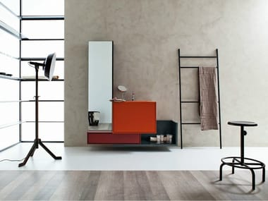 Bathroom furniture set LIBERA 3D - COMPOSITION L10