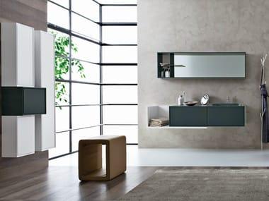 Bathroom furniture set LIBERA 3D - COMPOSITION L03