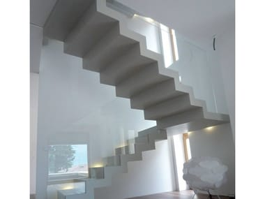 U-shaped self supporting Open staircase 700 | Open staircase