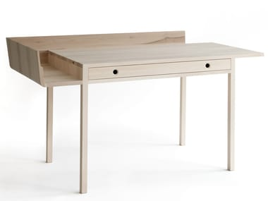 Maple writing desk with drawers NOVEMBER