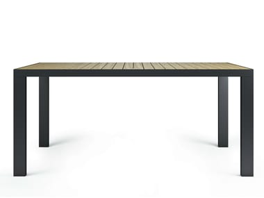 Rectangular ash dining table GARDEN | Dining table